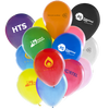 "- 12"" Latex Balloons - BOTH SIDES - Unprinted sample  - PG Promotional Items"
