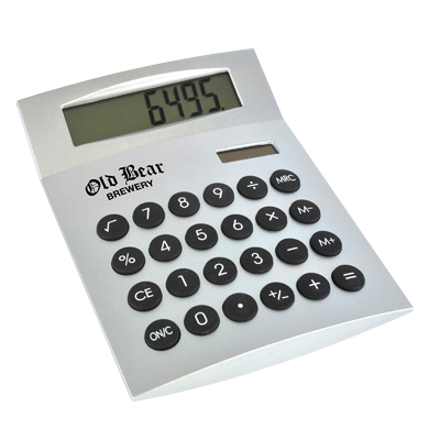 25 x Printed Calculators