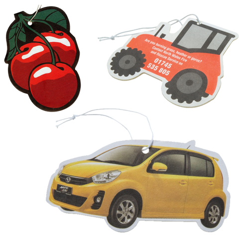 Travel - Bespoke Air Fresheners  - PG Promotional Items