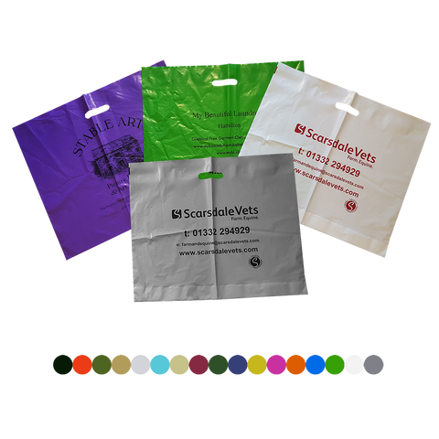 "- 22"" X Large Polythene Bags - Unprinted sample  - PG Promotional Items"