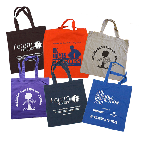 Totes & Shoppers - Coloured Cotton Mazz Bags  - PG Promotional Items