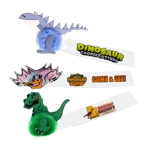 - Dinosaur Message Bugs - Unprinted sample  - PG Promotional Items