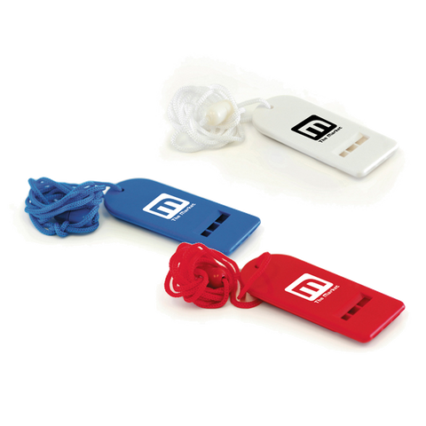 - Flat Whistles - Unprinted sample  - PG Promotional Items