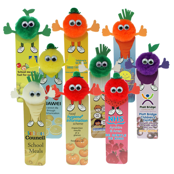 Fruit & Veg Bug Bookmarks