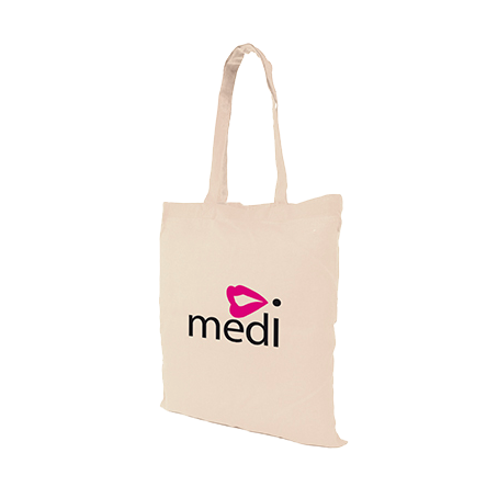 Totes & Shoppers - 5oz Grocery Totes  - PG Promotional Items