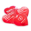 - Heart Shaped Hand Warmers - Unprinted sample  - PG Promotional Items