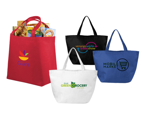 Totes & Shoppers - Handy Carry Totes  - PG Promotional Items