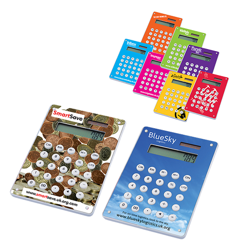 - Image Calculators - Unprinted sample  - PG Promotional Items