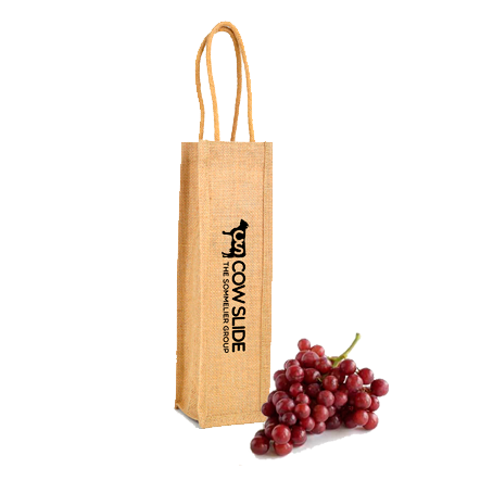 Paper & Gift Bags - Jute Wine Bags  - PG Promotional Items