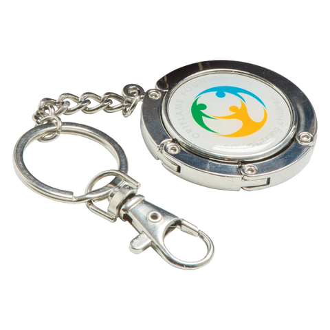 Metal Keyrings - Keybag Hanger  - PG Promotional Items
