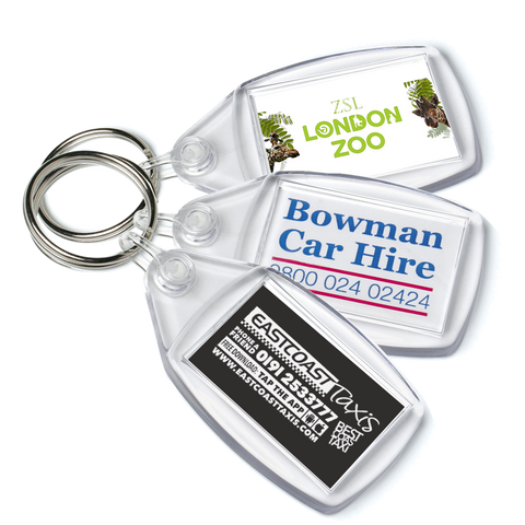 promotional key rings, promotional keyrings, printed key rings