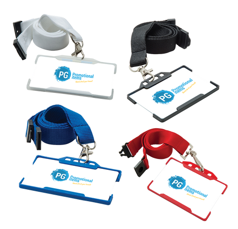 Lanyards - Rigid Card Holders  - PG Promotional Items