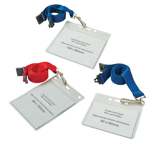 - Lanyard Wallets - Unprinted sample  - PG Promotional Items