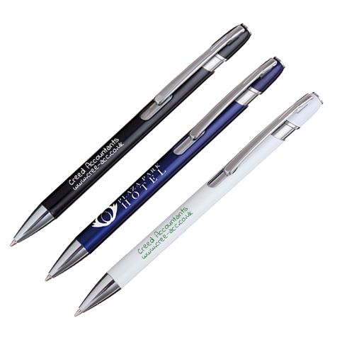 - Milan Metal Pens - Unprinted sample  - PG Promotional Items