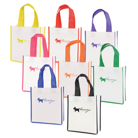 Totes & Shoppers - Mini Carry Totes  - PG Promotional Items