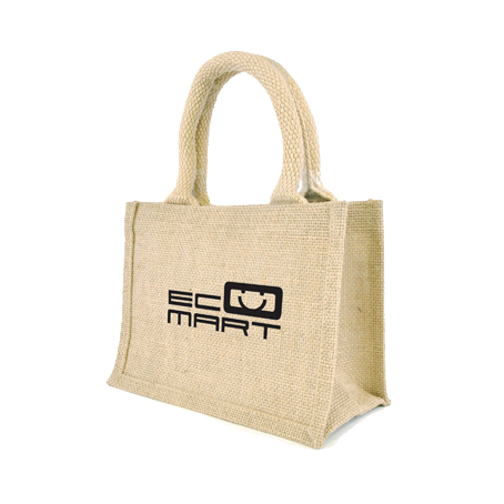 Totes & Shoppers - Mini Jute  - PG Promotional Items