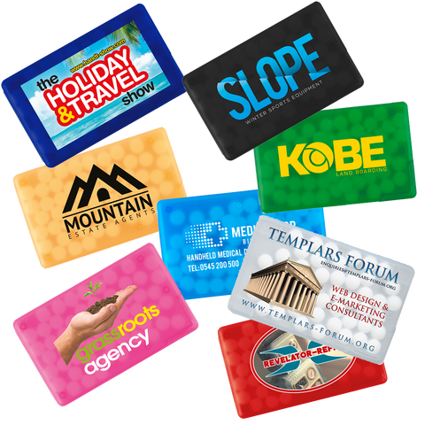 promotional mints, promotional mint crads, printed mints, printed mint cards