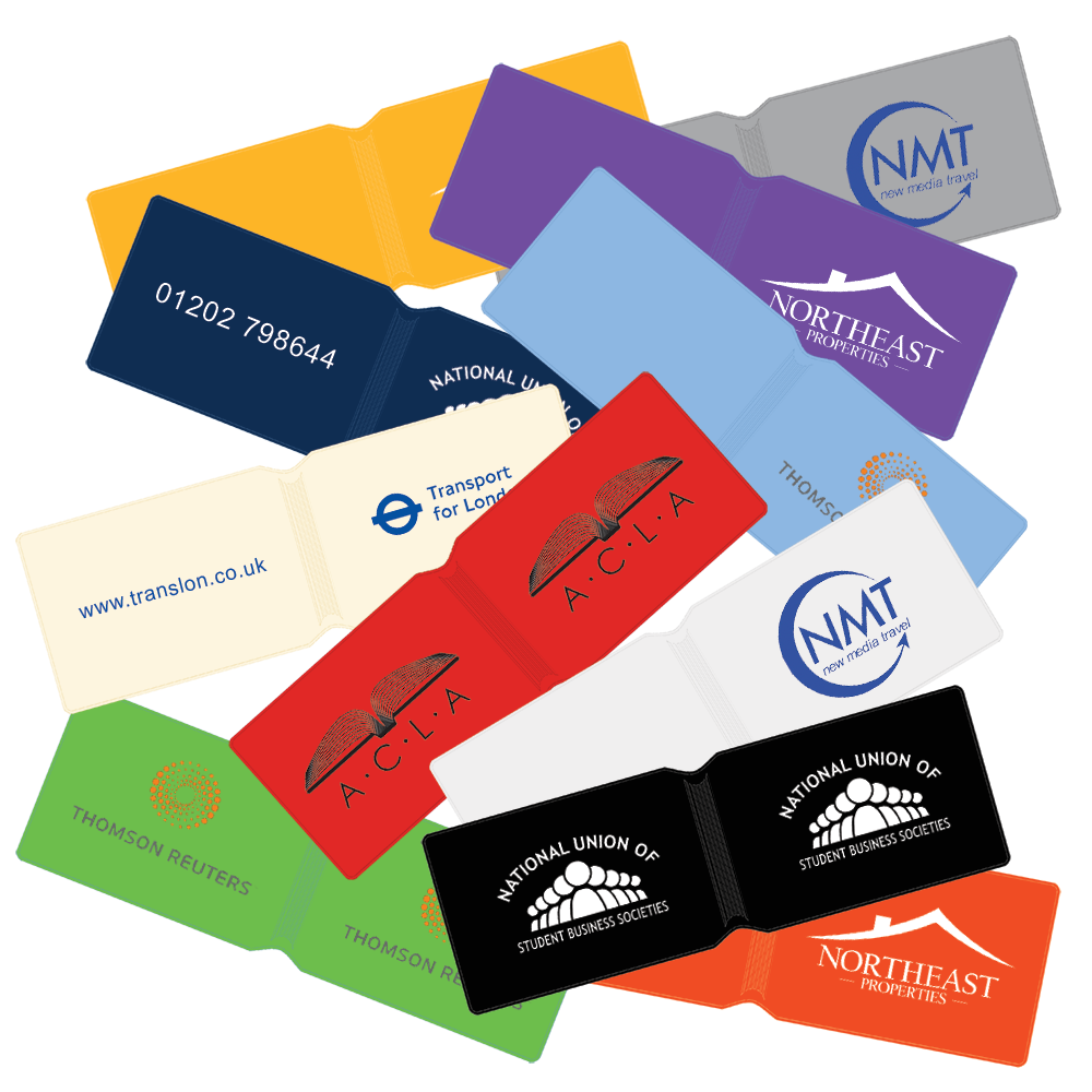 Printed oyster card wallets promotional oyster wallets pg printed oyster card holder logo card holders travel card holder printed promotional card colourmoves