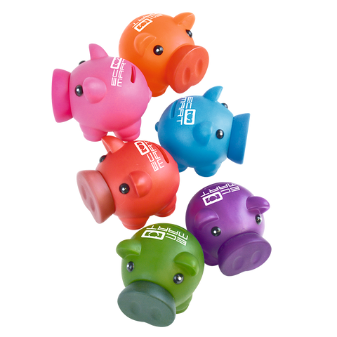 Lifestyle & Creative - Rubber Nose Piggy Banks  - PG Promotional Items