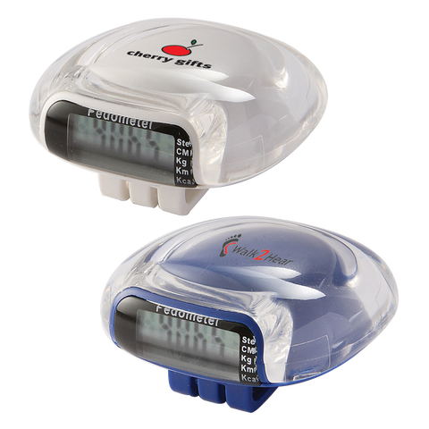 - Pod Pedometers - Unprinted sample  - PG Promotional Items