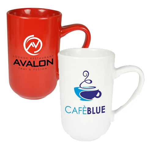 promotional stand up mugs, printed titan mugs, promotional titan mugs