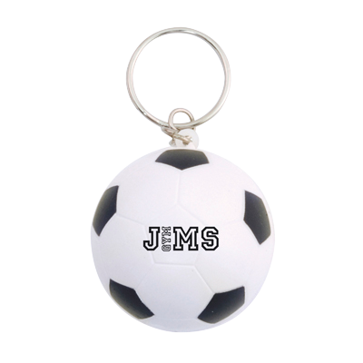 Low cost keyrings - Stress Football Keyrings  - PG Promotional Items