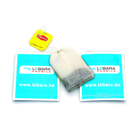 - Pouched Tea Bags - Unprinted sample  - PG Promotional Items
