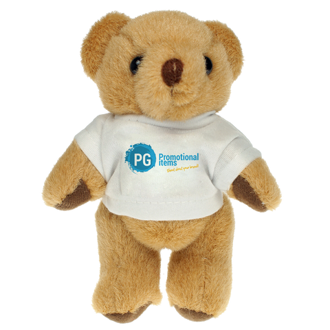Bears - 13cm Teddy Bears - Tshirt  - PG Promotional Items