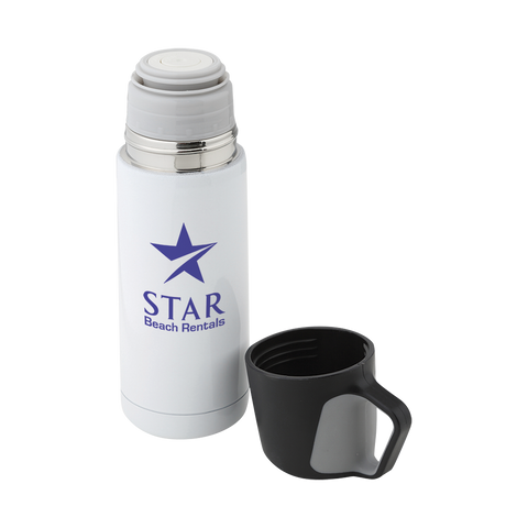 promotional thermos flasks, promotional vacuum flasks, printed thermo flasks