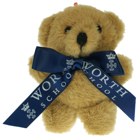 printed teddy bears with bow, printed teddy bears with ribbon