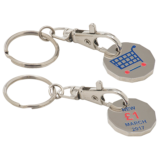 NEW shape Trolley Tokens - 2 Sides