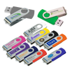 Branded twisty usb sticks, Logo usb sticks, Printed twisty memory sticks, promotional twisty flash drives