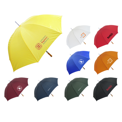 Umbrellas - Solid Value Umbrella  - PG Promotional Items