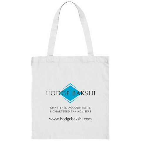 Totes & Shoppers - White Cotton Totes  - PG Promotional Items