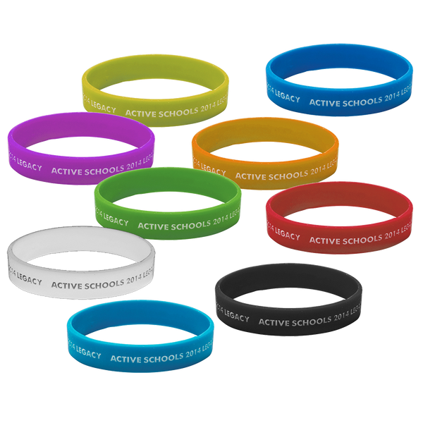 Infilled Wristbands