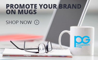 low minimum promotional mugs