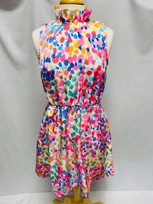 Macon Dress-Pastel Fetti