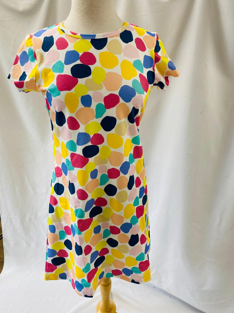 Tee Shirt Dress-Color Blobs