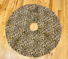 Christmas Tree Skirt-Leopard