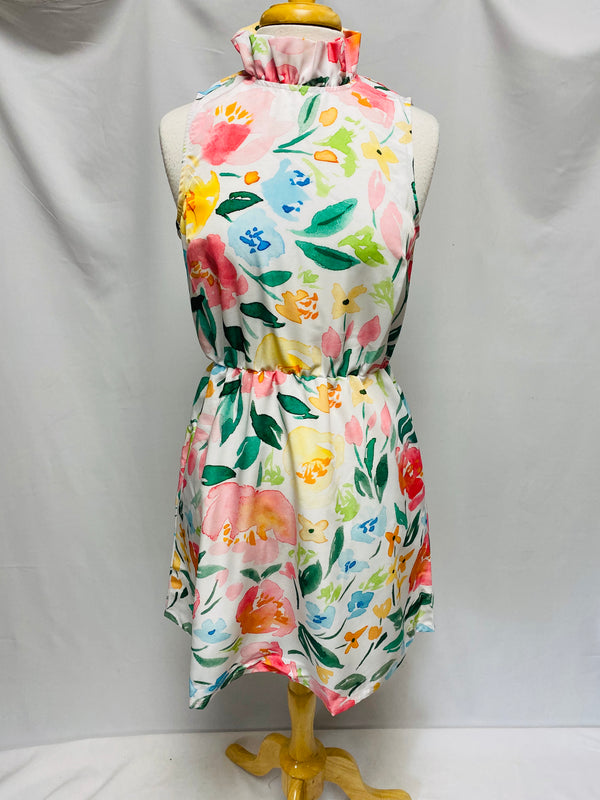 Macon Dress-Persimmon