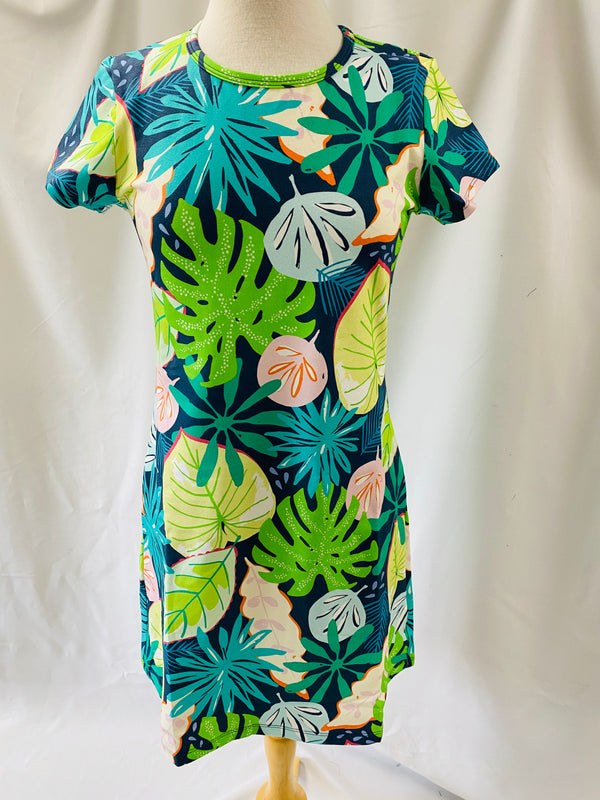 Tee Shirt Dress-Tropical Dream