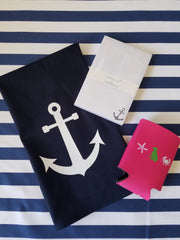 Anchor Gift Set in Navy