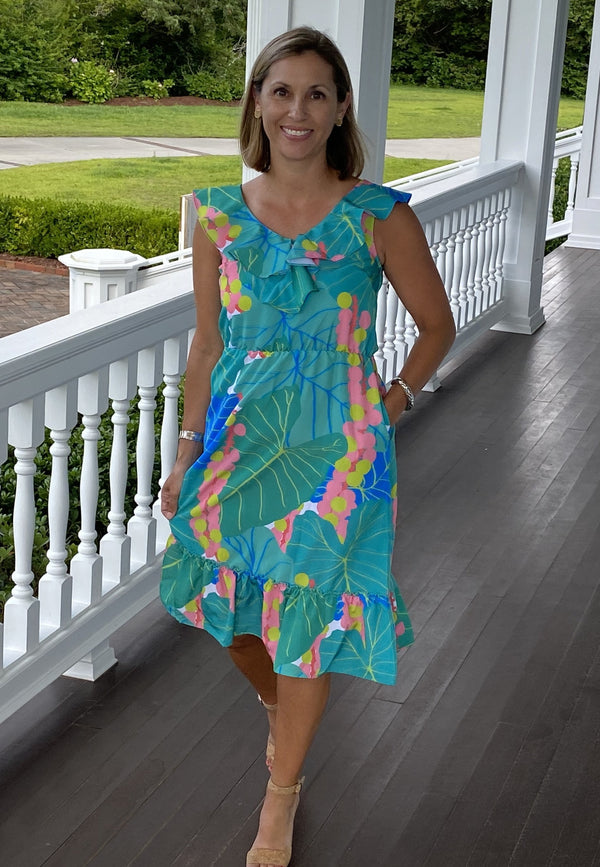 Beaufort Midi Dress-Elephant Ears