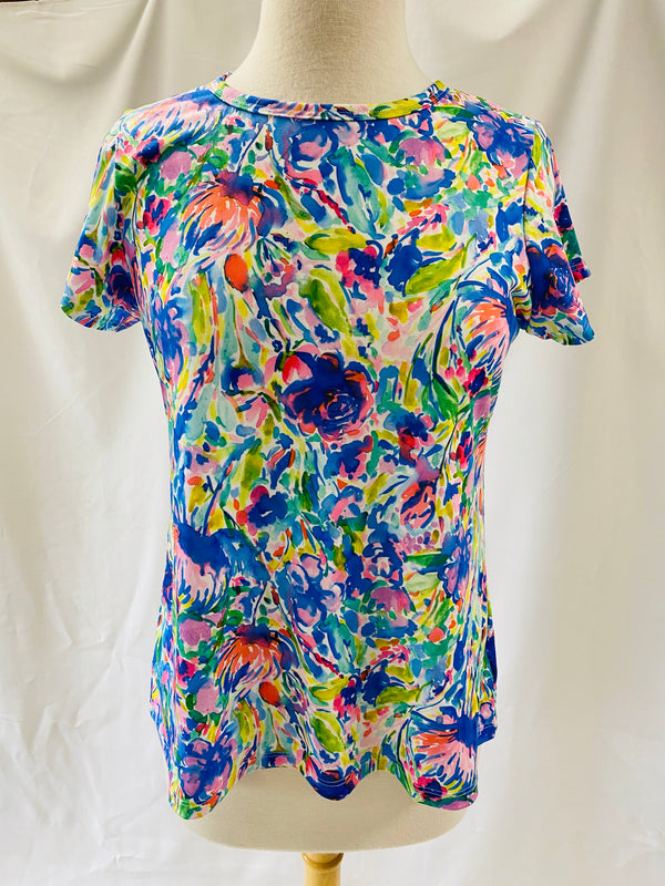 Day at the Park Top SS-Maximal Floral