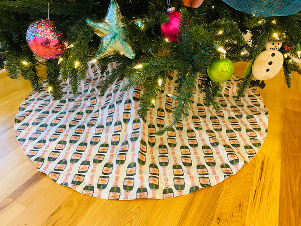 Christmas Tree Skirt-Veuve
