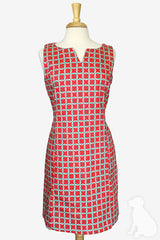 Ashley Dress in Red Rings