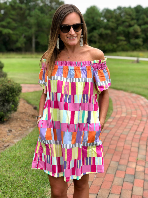 Betty Dress in Abstract