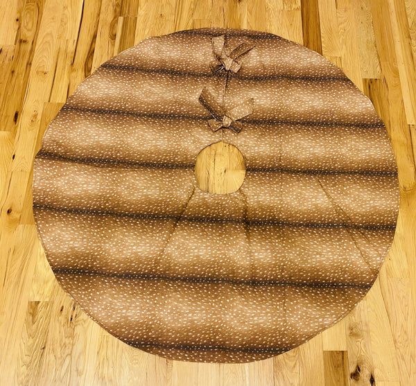 Christmas Tree Skirt-Antelope