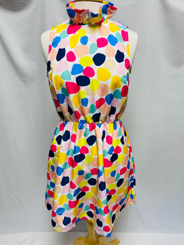 Macon Dress-Color Blobs