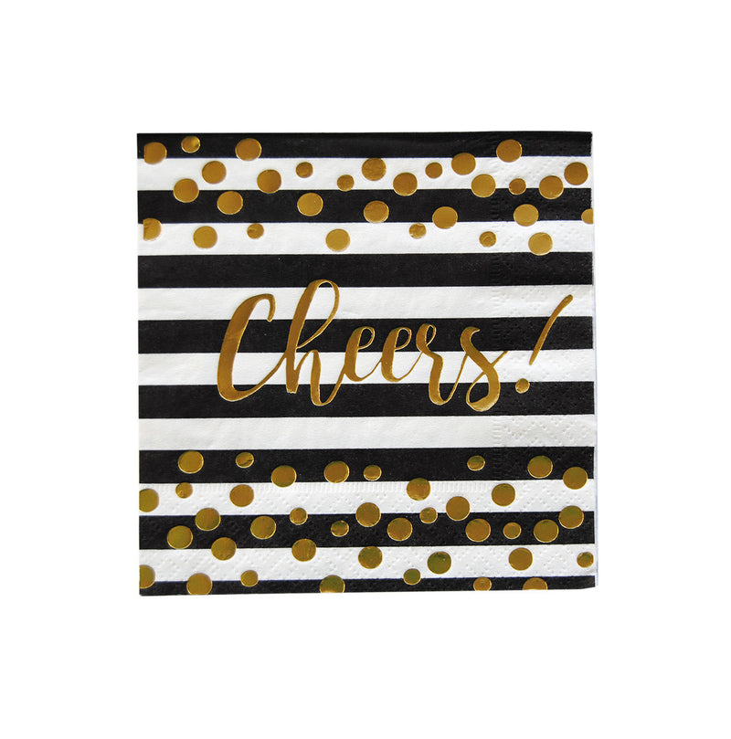 Cocktail Napkins - Cheers!